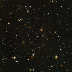Hubble Ultra Deepfield.