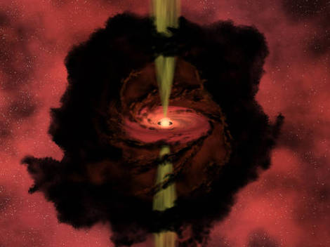 Protostar formation.