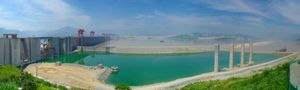 Three Gorges Dam.