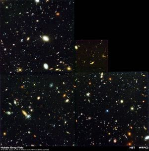 Hubble Deepfield.