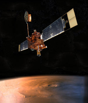 Mars Global Surveyor.