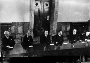 Nuremberg trial judges.