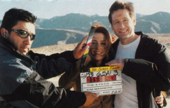 Anderson and Duchovny.