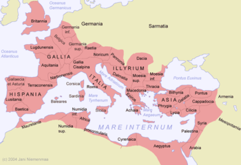 The Roman Empire.