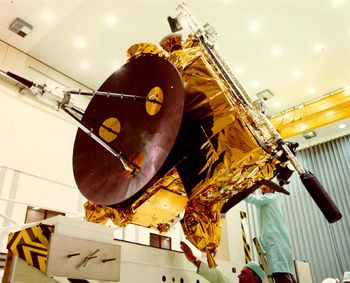 Ulysses spacecraft.