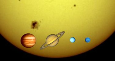 gas giant planets.