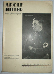 The cover of a 1932 Danish translation of Stark's Adolf Hitler: Aims and Personality