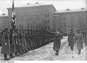 Leibstandarte SS Adolf Hitler Barracks.