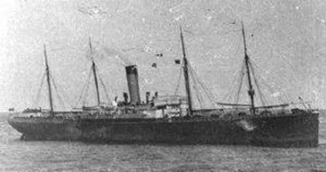 The SS Californian.