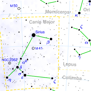 Canis Major.