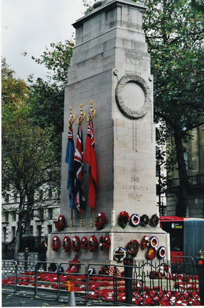 Cenotaph at Whitehall.