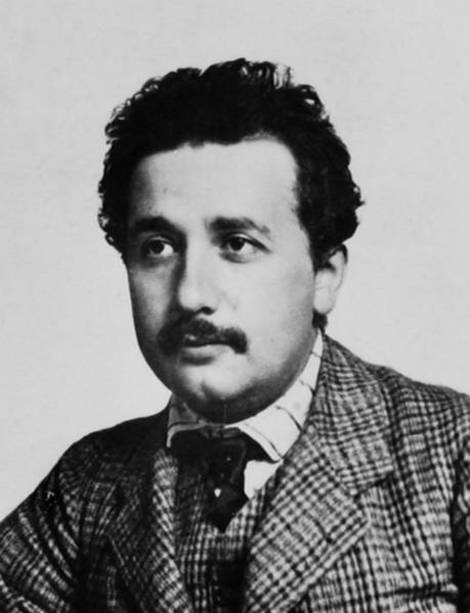Einstein in 1905.