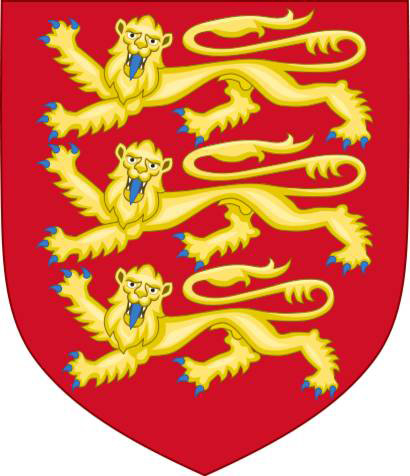 Royal Arms of England.