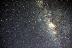 Galactic Center of Milky way.
