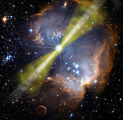 gamma-ray burst star-forming region.