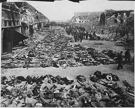 Gestapo concentration camps.