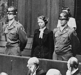 Hertha Oberheuser is sentenced to 20 years imprisonment