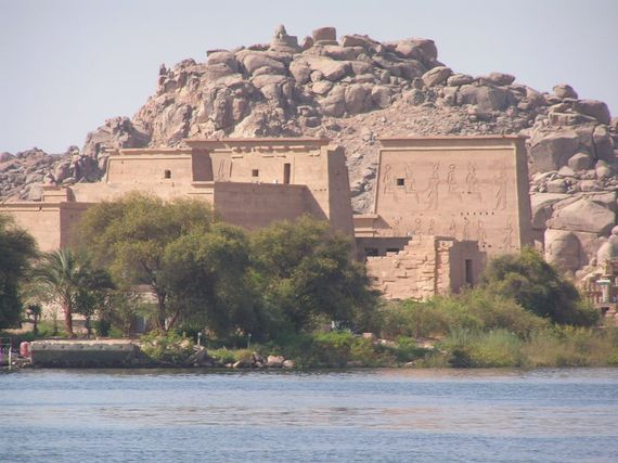 Isis in Philae, Egypt.