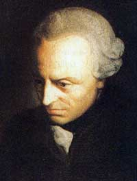 Immanuel Kant.