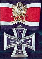 Knights Cross of the Iron Cross.
