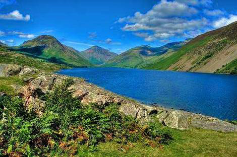 Lake District England.