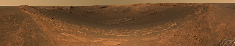 Mars Endurance Crater panoramic.