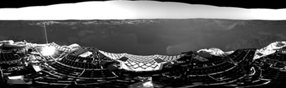 Mars Opportunity Rover panorama.