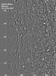 Mercury's Caloris Basin.
