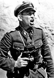 Signal Magazine cover photo depiciting Kurt Panzer Meyer in action at Klissura Pass, 14 April 1941.