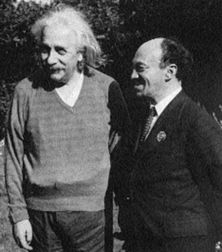 Einstein and Mikhoels.