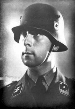 Mohnke as a young Hauptsturmführer in 1933