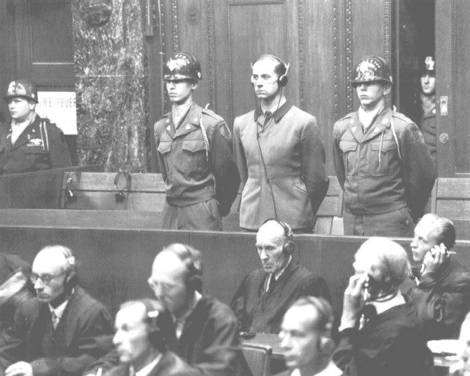 SS War Crimes Trial.
