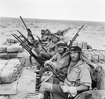 SAS in North Africa.
