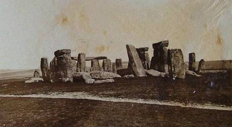 Stonehenge early.