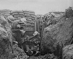 World War I Western Front.