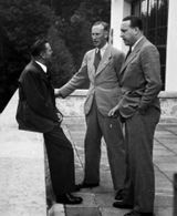 Schaub, Heydrich and Hewel at the Berghof