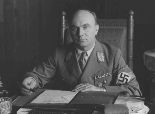 Arthur Greiser. In Goebbels' diary entry of March 2, 1945, Greiser was considered a real disgrace to the (Nazi) Party.