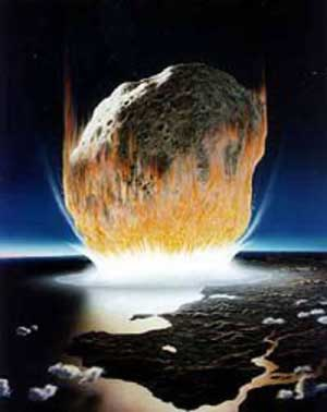 Asteroid Earth.