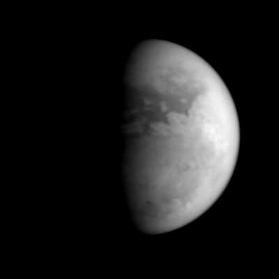 Saturn's largest Moon Titan.