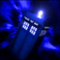Time travel Tardis.
