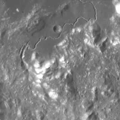 Hadley Rille on the Moon.
