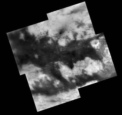Fensal-Aztlan at Titan's surface.