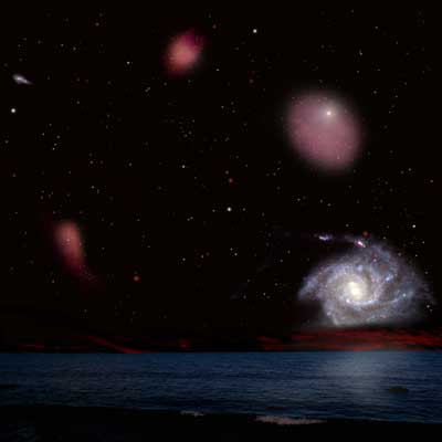 Galaxies in the Universe didn't evolve at similar speeds.