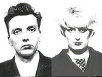 Ian Brady and Myra Hindley.
