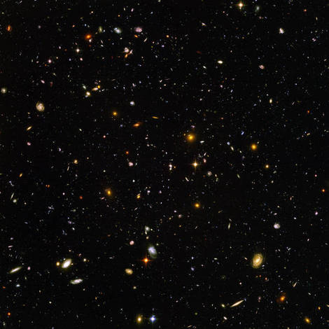 Hubble Ultra Deep Field.