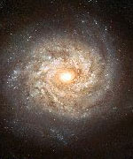 European Space Agency are tracking hundreds of Galaxies with the Hubble Space Telescope.