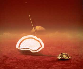 European Space Agency's Huygens probe.