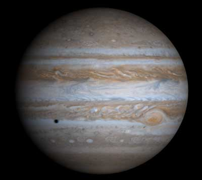 Jupiter's Spots Disappearing.