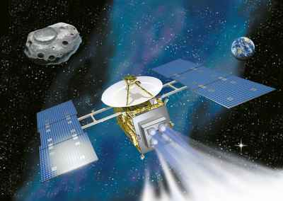 Hayabusa spacecraft.