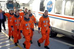 The crew of STS-115. Image credit: NASA.